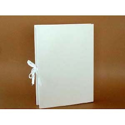 A-NER File with Tie String A4 Vertical, White