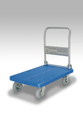 Cart with Pneumatic Tires and Fixed Handle