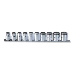 "Hand Socket 1/2"" ""(12.7 mm) Nut Grip Socket Rail Set RS4450M/10"