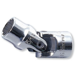 "Hand Socket 1/4"" ""(6.35 mm) 12-Sided Universal Socket 2445M/2445A"
