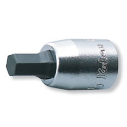 "Hand Socket 1/4"" (6.35 mm) Hex Bit Socket 2010A-25"