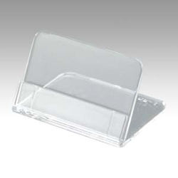 Methacrylic L Type Tiny Card Stand, Includes 5 pcs Used Outer Diameter: Width 50 x Depth 40 x Height 31 mm