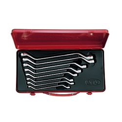 45° Long Offset Wrench Set [8 Pieces]
