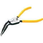 Curved Long Snap Ring Pliers (for Shafts)