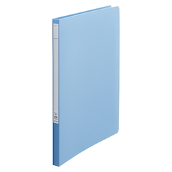Punchless File Z Type A4S 7 Light Blue