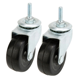 Luminous 19 mm Series Rubber Casters