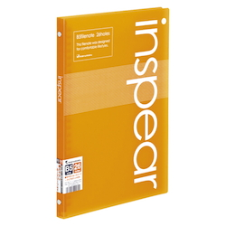 B5 File Note Inspear Orange
