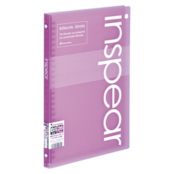 B5 File Note Inspear Purple