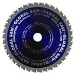 "Global Saw ""Fine Metal"" (for Iron/Stainless Steel) FM"