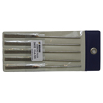 Diamond Electrodeposition Needle File DNYE, Same Shape/Same Grain Size, 5-Piece Set