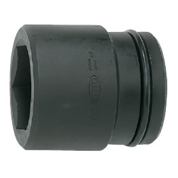 Impact Wrench Socket (Standard Type) Hex mm P12-□