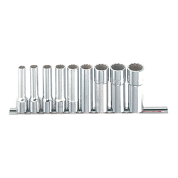 Socket Wrench Set (Deep Type) Inch 9 pcs. 10 pc. set RS410L