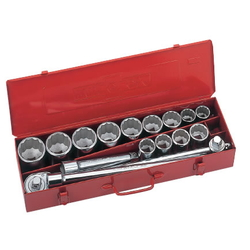 Socket Wrench Set (Standard Type) Inch 13 pcs. 18 pc. set S6□