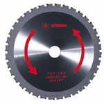 Tipped Saw for Iron Cutting