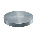 Round Plate, Machine Finish M Type