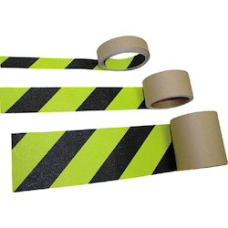 Fluorescent Non-Slip Tape Zebra Type (Flat Surfaces/Hazard Indicator)