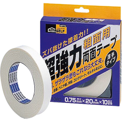 Heavy Duty Double-Sided Tape for Rough Surfaces, Thin Type (Box)