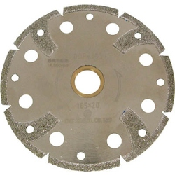 Electrodeposited Diamond Cut Saw For PVC Pipes (Dry Type)