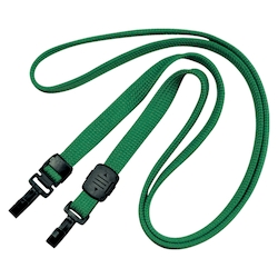 Loop Clip Double Hook Type 10 Pieces Green