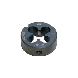 Screw Cutting Round Die Series, Screw Cutting Round Solid Dies for Stainless Steel, TPD-S-NPT