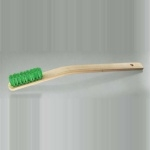 Nylon Brush, Curved Handle