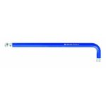 Long Hex Wrench with Ball, Blue