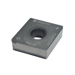 CBN Insert for Hardened Steel Processing with Rhomboid Hole 80° CNGA