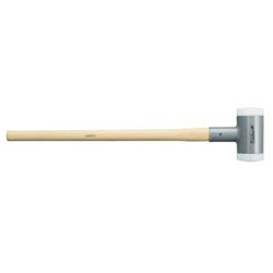 SUPERCRAFT sledge hammer, with vibration-reducing, ergonomic and varnished Hickory handle