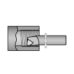 Cross-Thread 266 Thread Cutting Boring Bit