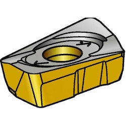 Insert For CoroMill 390 (Clearance Angle: 15°)