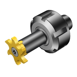 CoroMill 327 ER For Rotary Tools, Integrated Collet Type 392.ER327