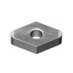 SUMIBORON Insert, 55° Diamond-Shape With Hole, Negative, 4NC-DNGA