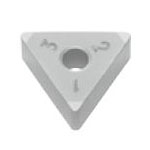 SUMIBORON Insert, Triangle-Shape With Hole, Negative, 6NC-TNGA-HS