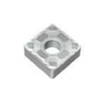 Square-Shape With Hole, Negative, SNMG-LU, For Finish Cutting