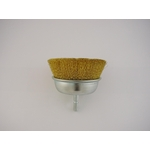 Hexagonal Shank Cap Wire Brush
