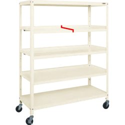 Super Rack 3-Way Spill Prevention Shelf With Casters
