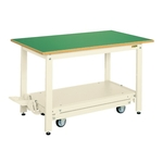 Light Duty Workbench, KK Type, Pedal-Lift/Mobile, Uniform Load 350 kg