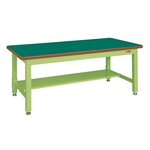 Heavy Duty Workbench, KW Type, with 1 Intermediate Plate, Uniform Load 2,000 kg