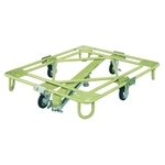 Freely Rotating Dolly, Light Weight Type, with Central Base