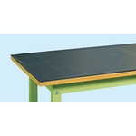 PVC Mat for Work Benches, Non-Slip Treatment on One Side