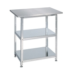 Stainless Steel One-Person Work Bench Frontage Uniform Load (kg) 150/200