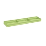 Tooling Rack/Wagon Optional Parts Tray with Divider (Top Section Only)