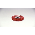 Grit Press Wheel Brush with Abrasive Grains #60
