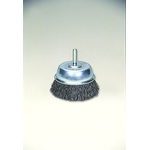 0.3 Steel Wire Cup Brush with Shaft