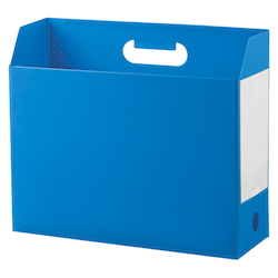 Add One, Box File, A4, Lateral, Blue