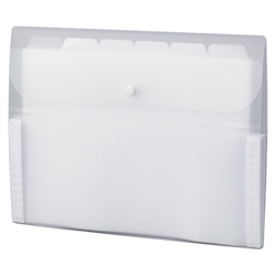 Document Folder, 5 INDEX, A4, White