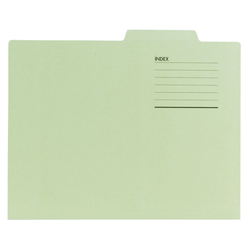 File Folder A4 10 Count Green