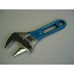 Wide Monkey Wrench Short Type (with Color Grip)