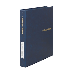 Collection Album Binder Type Blue