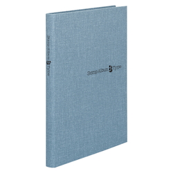Stamp Album B Type, B5-Sized Vertical, Blue, Standard: 6-Stage SB-32N-02